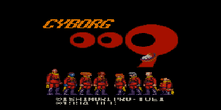 Screenshot Thumbnail / Media File 1 for Cyborg 009 (Japan) [En by Aeon Genesis v1.0]